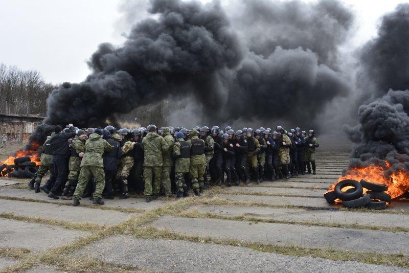 Вони дбають про безпеку: На Закарпатті силові структури провели масштабнi навчання (ФОТО,ВІДЕО), фото-2