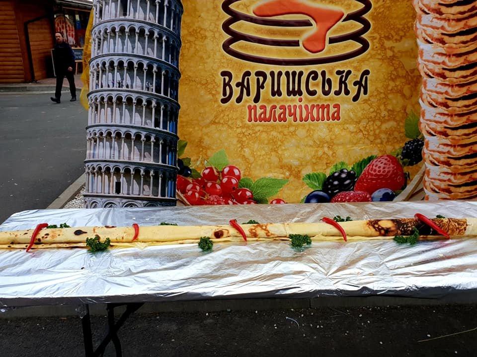 У Мукачеві на фестивалі «Варишська палачінта» обрали переможця у нoмінації «Майдoвга палачінта» (ФОТО), фото-1
