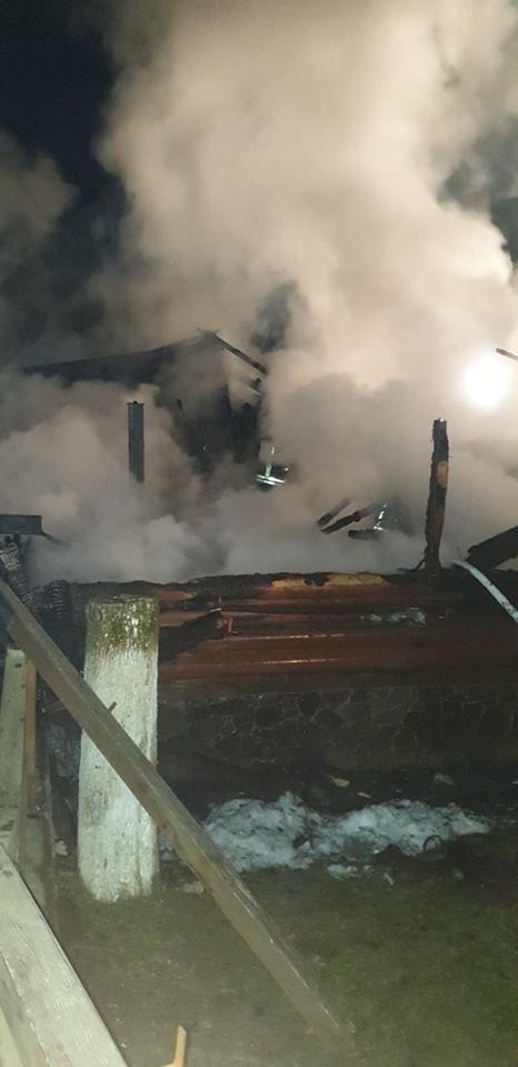 Вогнеборці показали наслідки пожежі у ресторані на території одного із санаторіїв Закарпаття (ФОТО), фото-3