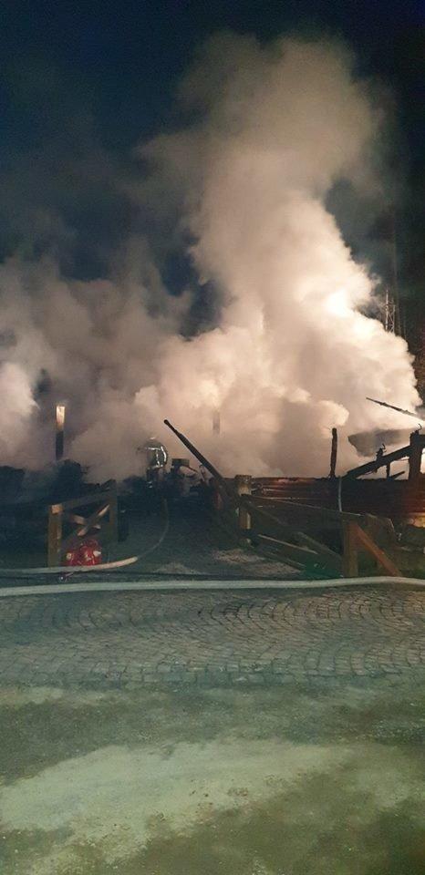 Вогнеборці показали наслідки пожежі у ресторані на території одного із санаторіїв Закарпаття (ФОТО), фото-4