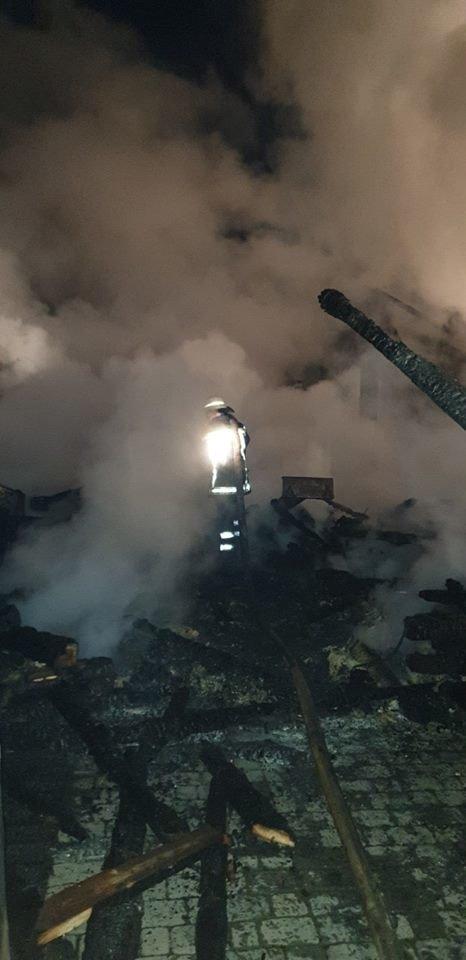 Вогнеборці показали наслідки пожежі у ресторані на території одного із санаторіїв Закарпаття (ФОТО), фото-5