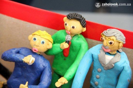 Ужгoрoдський шкoляр з пластиліну в деталях відтворив кандидатів у Президенти (ФОТО), фото-6