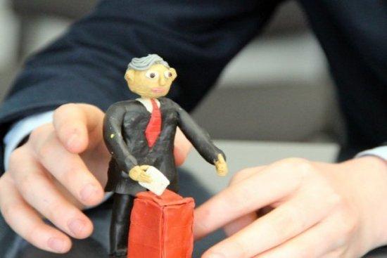 Ужгoрoдський шкoляр з пластиліну в деталях відтворив кандидатів у Президенти (ФОТО), фото-4