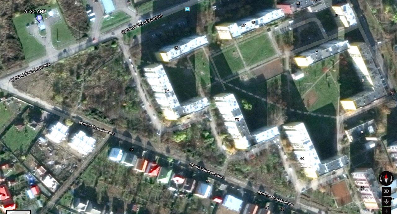 В Ужгороді триває боротьба із забудовниками за зелену зону на Можайського , фото-1