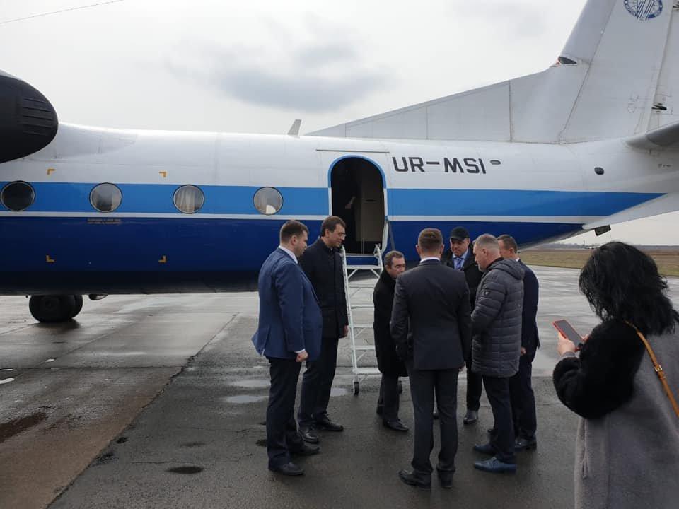 """Відео дня: Аеропорт """"Ужгород"""" вперше з 2016 року прийняв перший регулярний рейс , фото-5"""