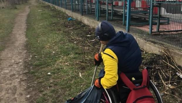 Молоді ужгородці приєдналися до всесвітнього екологічного флешмобу Trashtag Challenge (ФОТО), фото-4