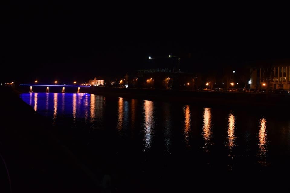 В Ужгороді на пішоходному мості відремонтували ілюмінаційне підсвічування (ФОТО), фото-3