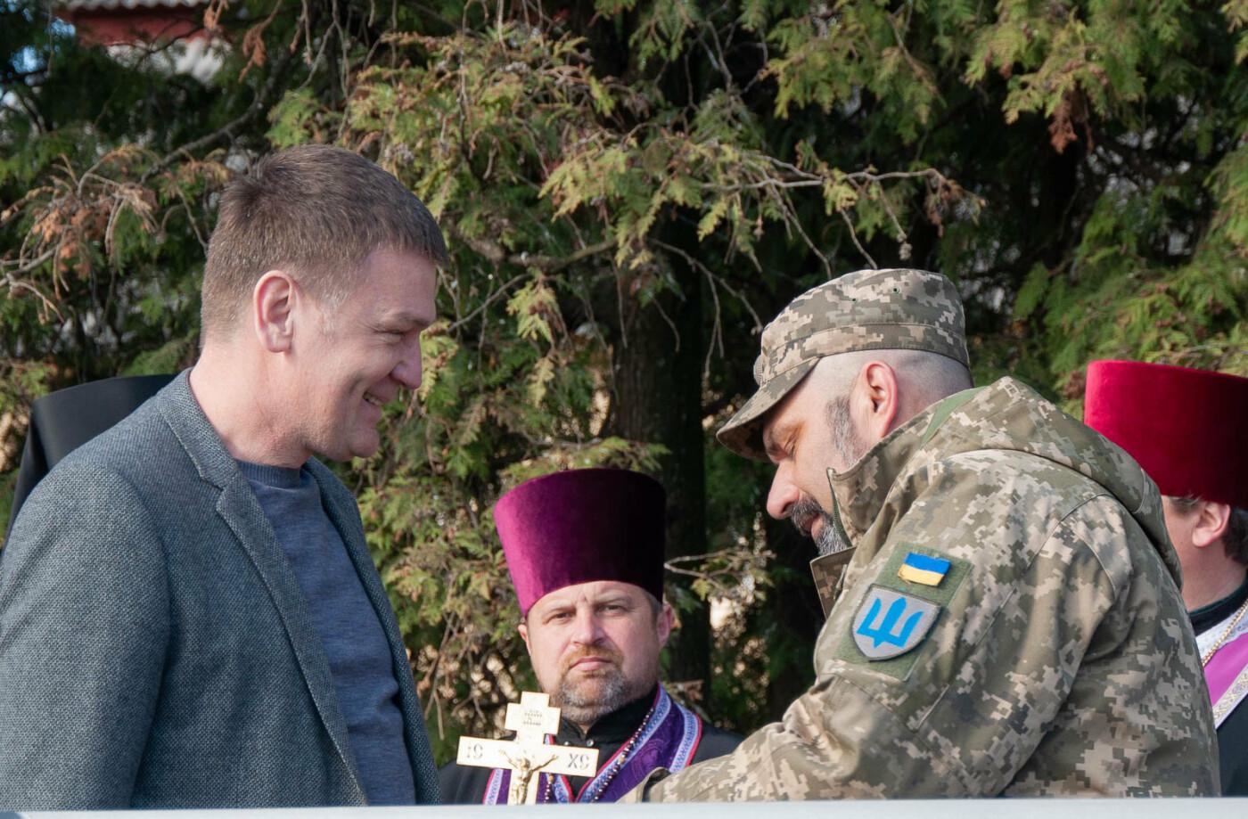 Роберт Горват нагородив Грамотою Верховної Ради України полковника 128-ої ОГПБР Євгена Бондара (ФОТО), фото-5