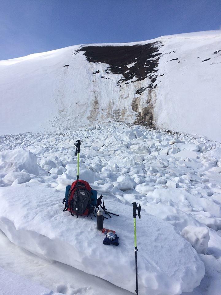 Як в Карпатах лавини сходять: закарпатці відзняли вражаюче відео під час подорожі Боржавським хребтом (ВІДЕО), фото-2