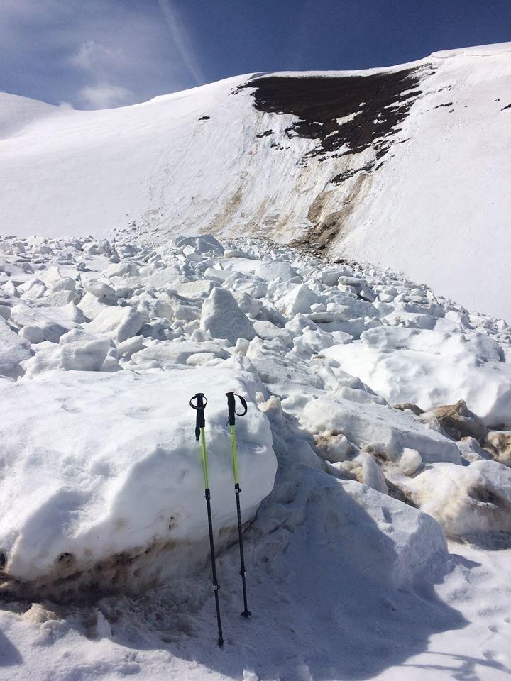 Як в Карпатах лавини сходять: закарпатці відзняли вражаюче відео під час подорожі Боржавським хребтом (ВІДЕО), фото-3