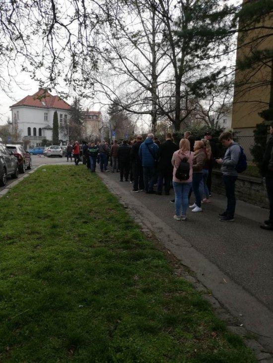 Українці вистоюють у Празі великі черги, аби проголосувати (ФОТОФАКТ), фото-1