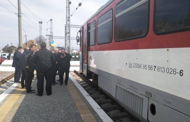На Закарпаття прибуває перший поїзд з Кошице, фото-7