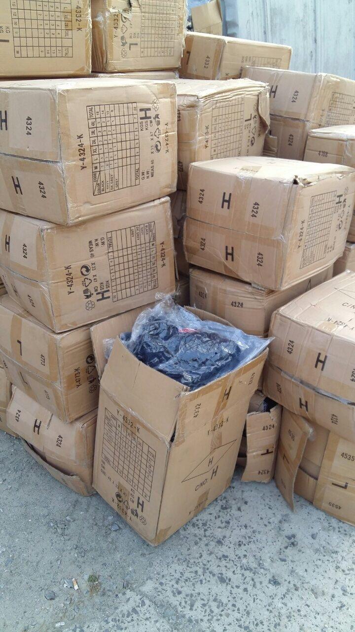"""Через КПП """"Ужгород"""" українці намагались незаконно провезти 1700 кг нового одягу (ФОТО), фото-4"""