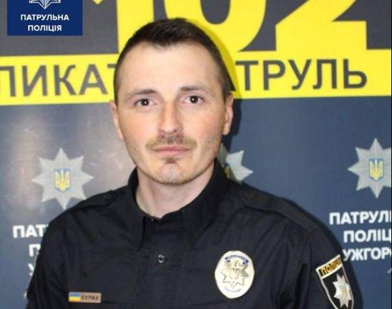 В Ужгороді Інспектор роти тактико-оперативного реагування врятував чоловіка, який ледь не потонув (ФОТО), фото-1