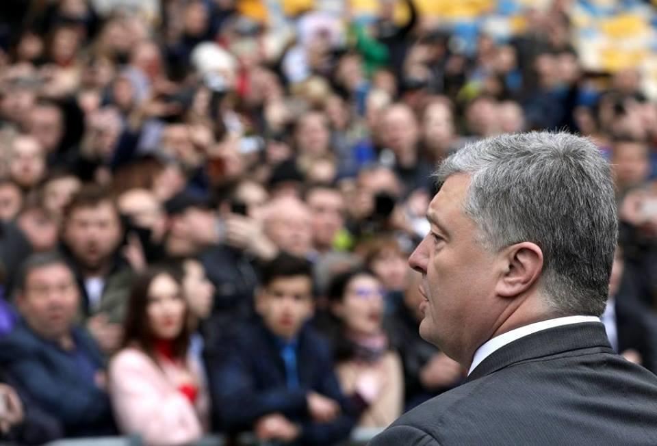 Президент Петро Порошенко запропонував Володимиру Зеленському подискутувати в ефірі телеканалів, фото-5