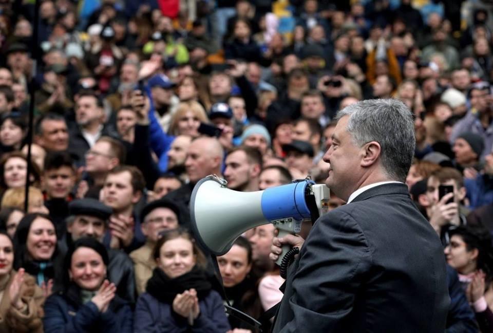 Президент Петро Порошенко запропонував Володимиру Зеленському подискутувати в ефірі телеканалів, фото-4
