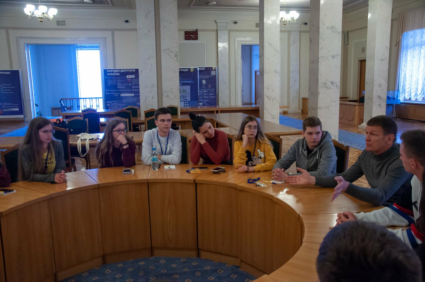 Подорож до парламенту: 20 закарпатських школярів виграли поїздку на освітню екскурсію до Верховної Ради (ВІДЕО), фото-4