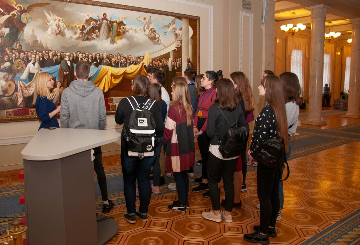 Подорож до парламенту: 20 закарпатських школярів виграли поїздку на освітню екскурсію до Верховної Ради (ВІДЕО), фото-5