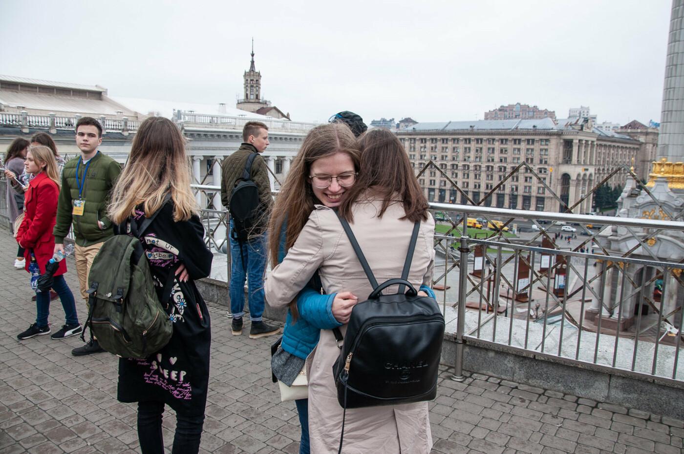 Подорож до парламенту: 20 закарпатських школярів виграли поїздку на освітню екскурсію до Верховної Ради (ВІДЕО), фото-12