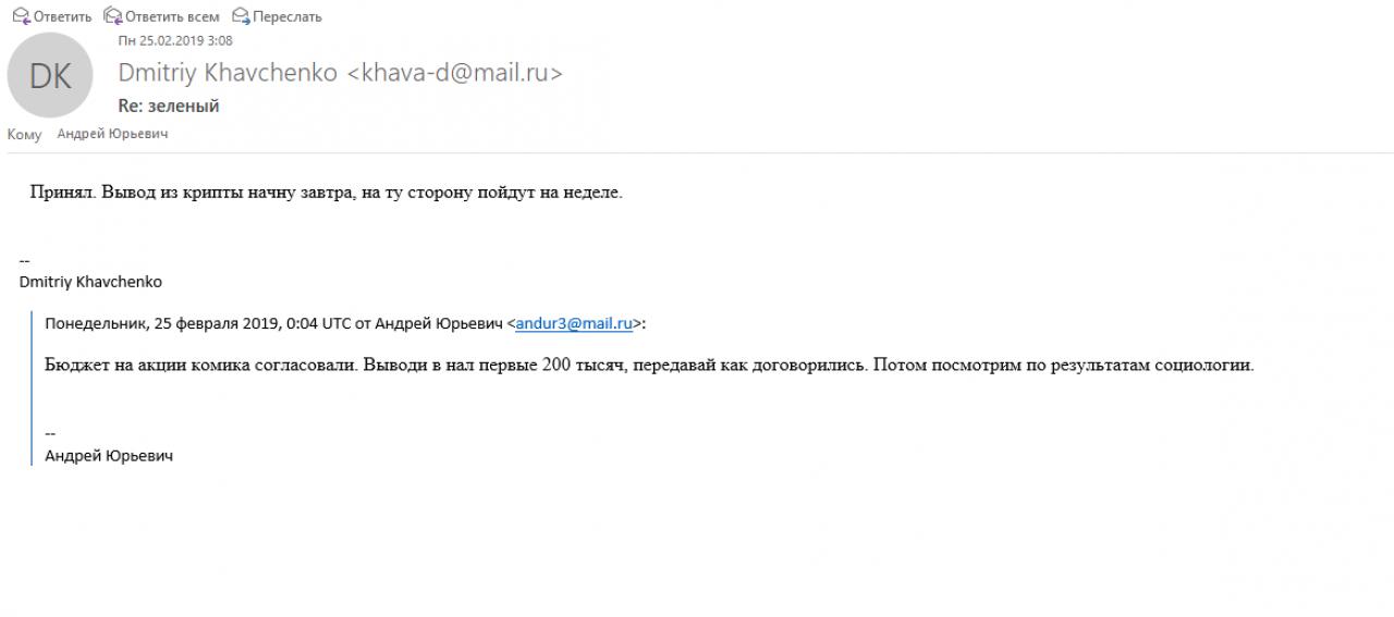 Зламане листування: люди радника глави Кремля фінансували штаб Зеленського - The Insider, фото-1