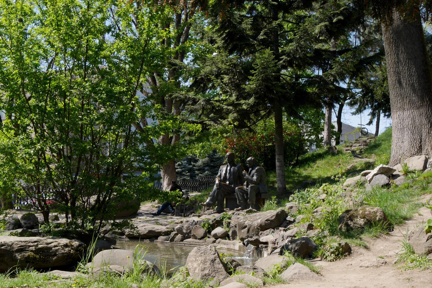 В Ужгороді запрацювали усі фонтани (ФОТО), фото-5