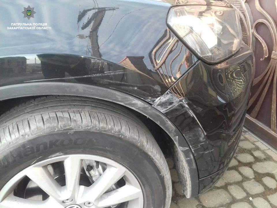 В Ужгороді п'яний водій на позашляховику пошкодив припарковане авто та втік (ФОТО), фото-3