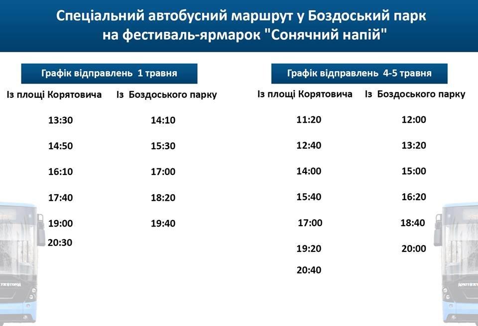 """В Ужгороді 1-5 травня відбудеться фестиваль """"Сонячний напій"""" - запустять спеціальний автобусний маршрут (ФОТО), фото-1"""