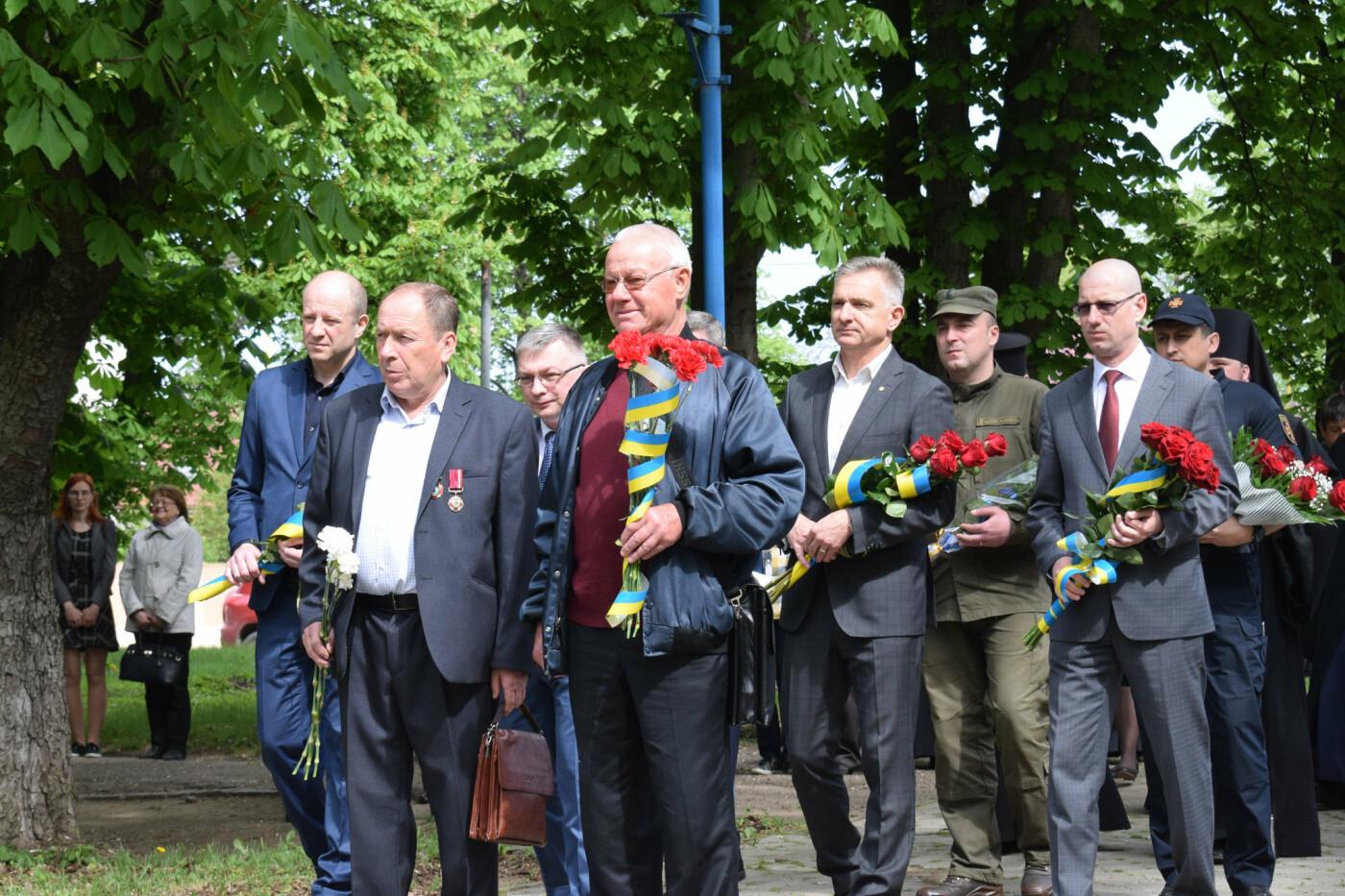 В Ужгороді вшанували героїв-ліквідаторів аварії на Чорнобильській АЕС (ФОТОРЕПОРТАЖ), фото-6