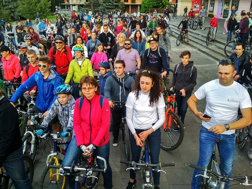 Ужгородці відкрили велосезон масовим заїздом Big City Ride (ФОТО), фото-4