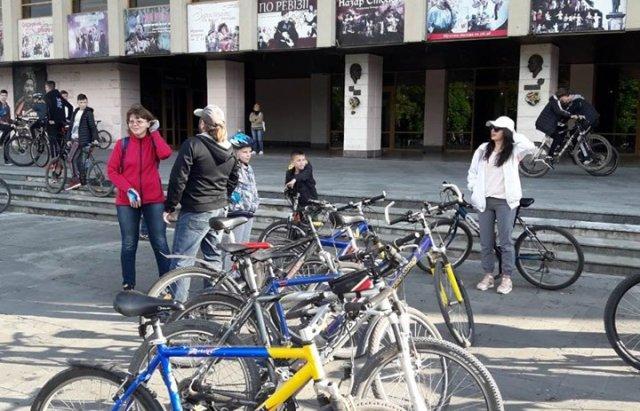 Ужгородці відкрили велосезон масовим заїздом Big City Ride (ФОТО), фото-10