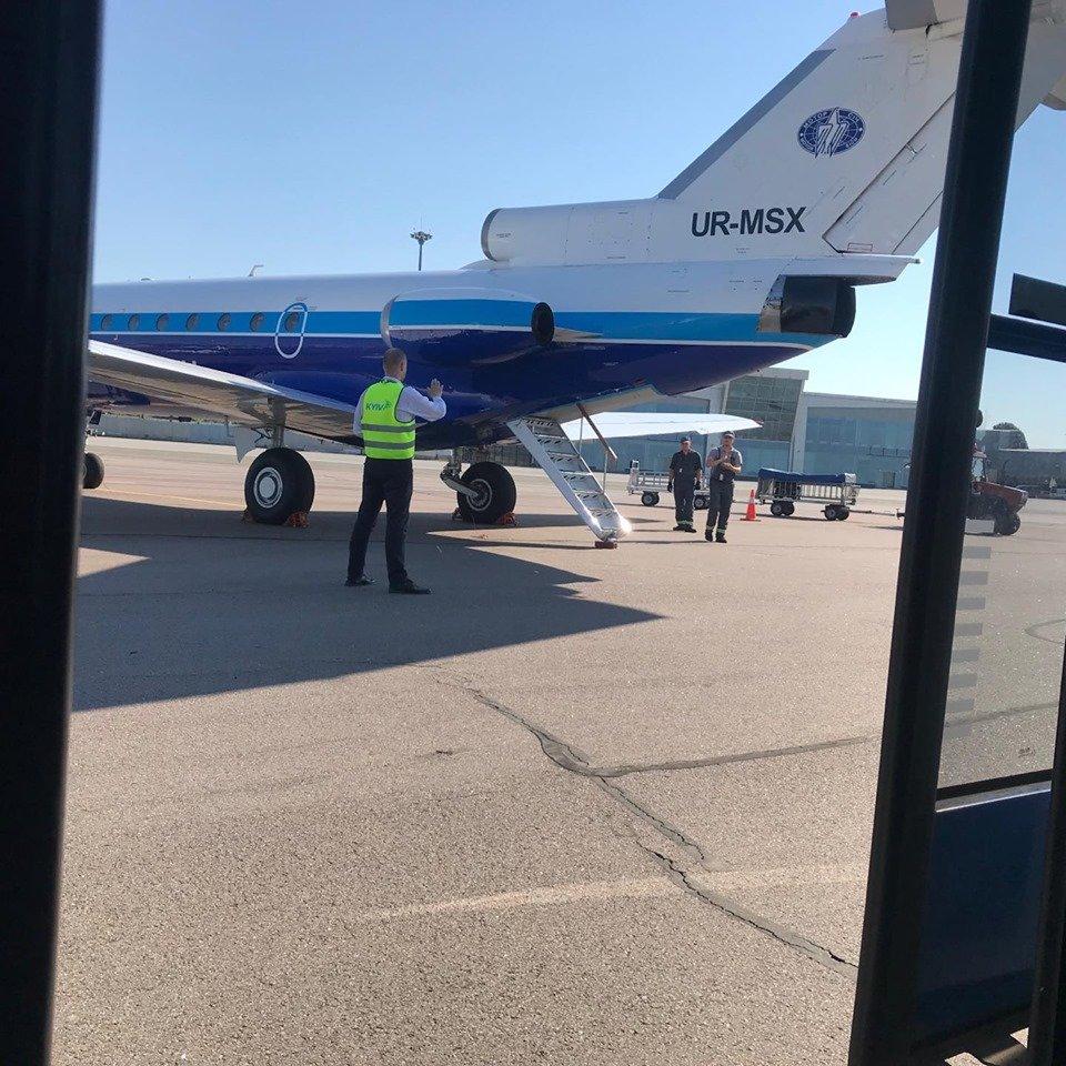 """Сьогодні здійснив свій перший політ оновлений авіарейс """"Ужгород-Київ"""" (ФОТО), фото-5"""