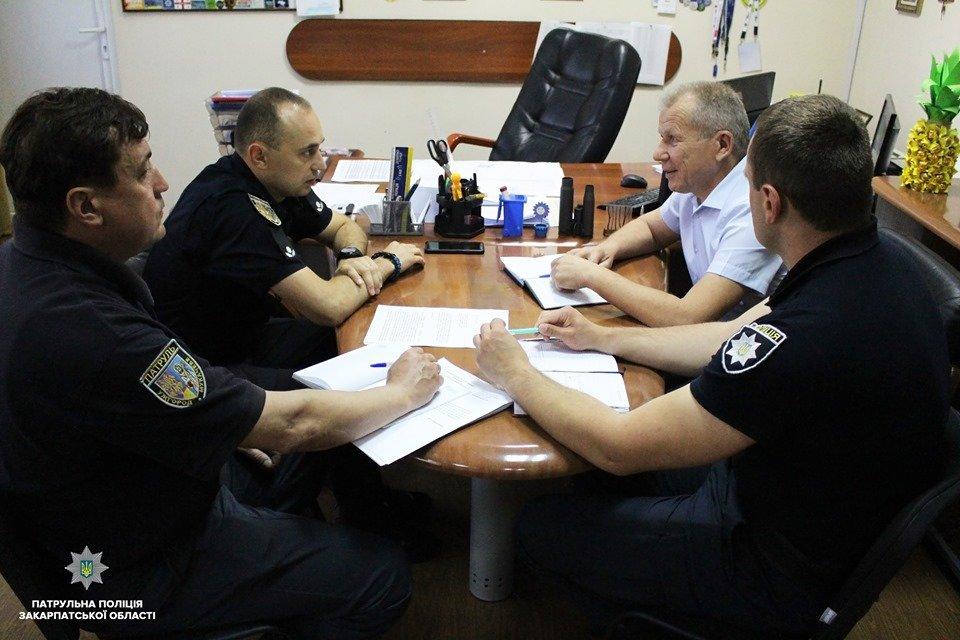 На Закарпатті працюватимуть спільні мобільні групи патрульних та представників Укртрансбезпеки (ФОТО), фото-1