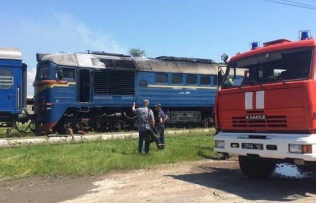 """На Закарпатті терміново евакуйовували 50 пасажирів з потягу """"Київ-Солотвино"""", що загорівся на станції (ФОТО), фото-5"""