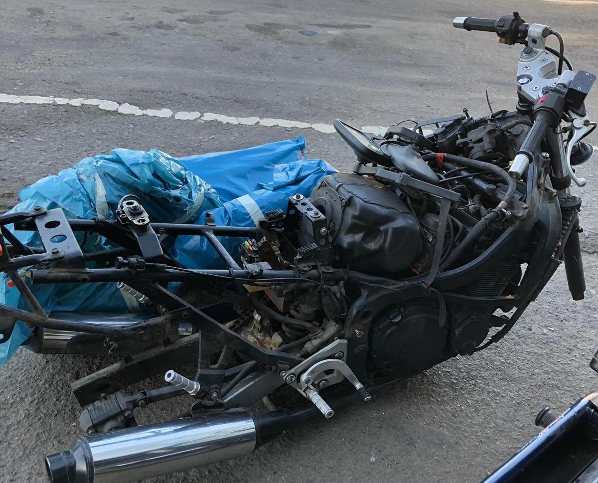 """Через КПП """"Ужгород"""" українець та німець намагались незаконно завезти б/у мотоцикли (ФОТО), фото-1"""