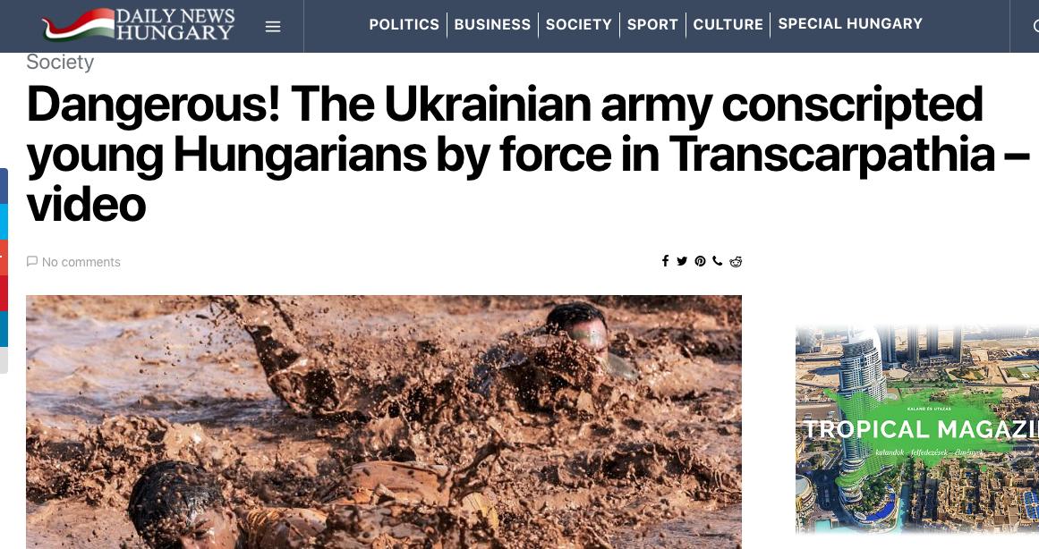 Насильно  до Лав Збройних Сил: Угорські ЗМІ стверджують, що молодих угорців на Закарпатті силою відправляють в армію, фото-1