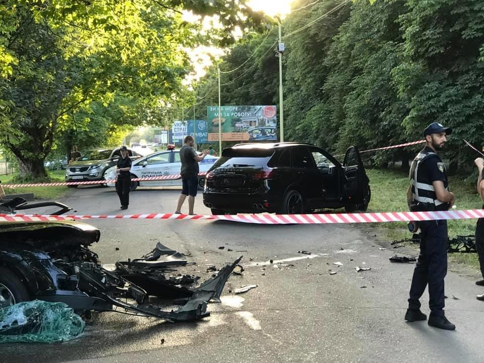 Водійка Porsche Cayenne, що на швидкості зіткнувся із Ford в Ужгороді не була пристебнута (ФОТОФАКТ), фото-5
