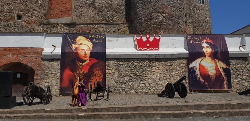 """Як пройшла історична реконструкція весілля володарів """"Паланку"""" Ілони Зріні та Імре Текелі (ФОТО, ВІДЕО), фото-1"""
