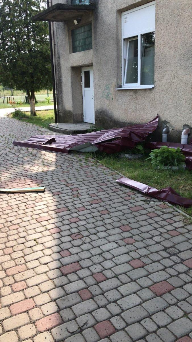 Кілька населених пунктів на Берегівщині постраждали від сильного буревію (ФОТО), фото-3