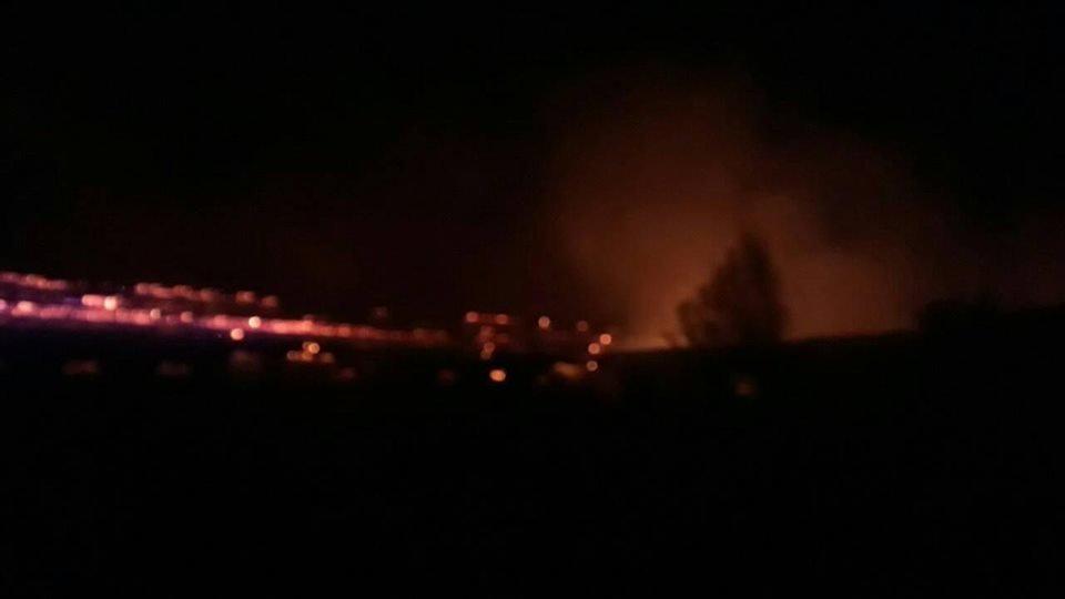 Рятувальники розповіли подробиці масштабної пожежі в господарських спорудах на Виноградівщині (ФОТО), фото-2