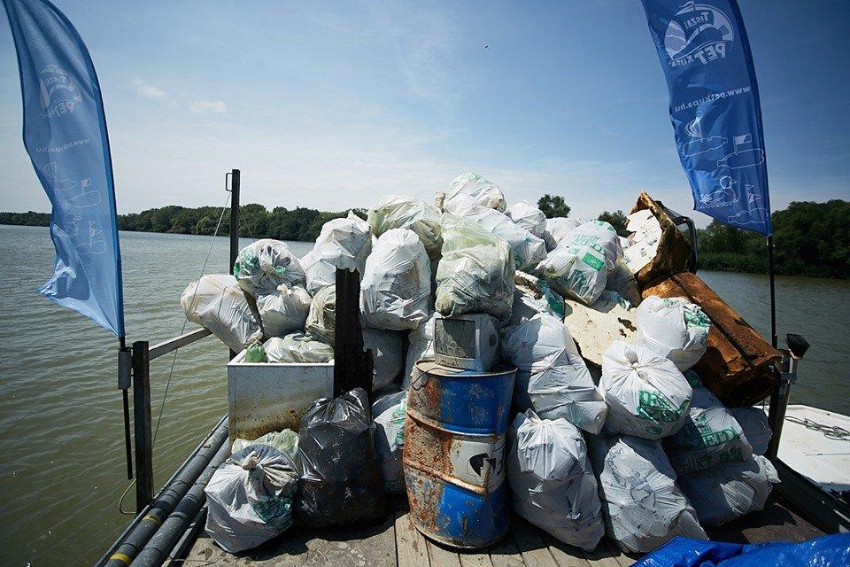 3000 кг пластику: угорські волонтери показали шокуючі результати екологічної акції PET Kupa на Тисі (ФОТО, ВІДЕО), фото-18