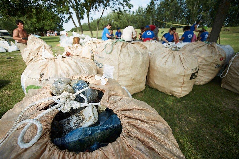 3000 кг пластику: угорські волонтери показали шокуючі результати екологічної акції PET Kupa на Тисі (ФОТО, ВІДЕО), фото-3