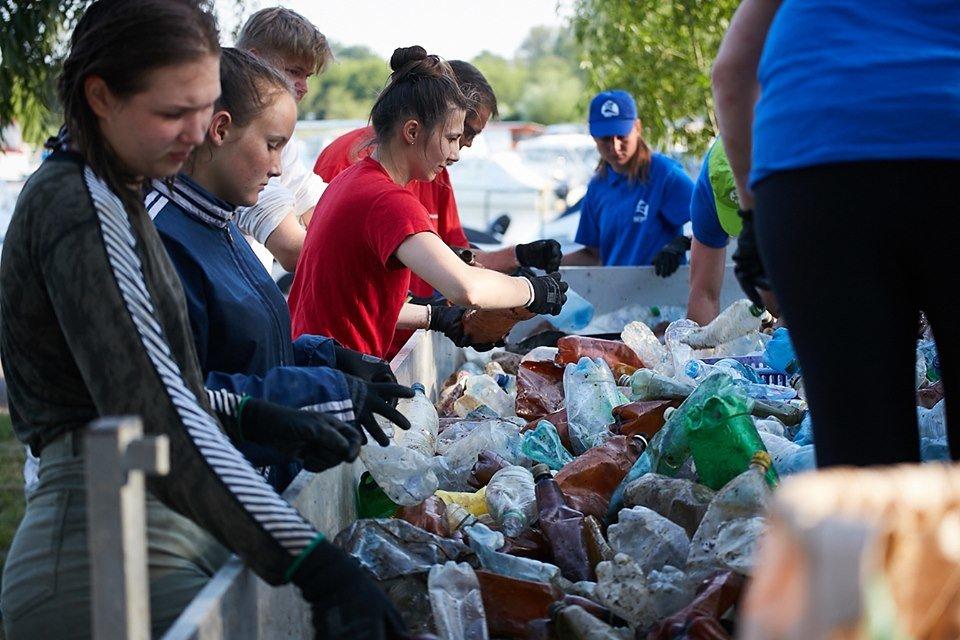 3000 кг пластику: угорські волонтери показали шокуючі результати екологічної акції PET Kupa на Тисі (ФОТО, ВІДЕО), фото-28