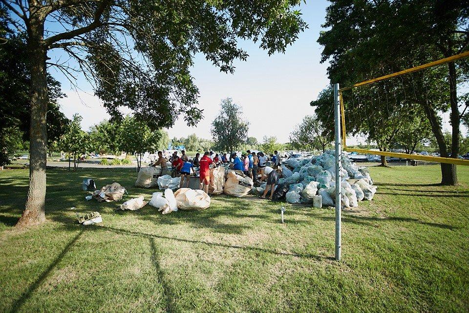 3000 кг пластику: угорські волонтери показали шокуючі результати екологічної акції PET Kupa на Тисі (ФОТО, ВІДЕО), фото-27
