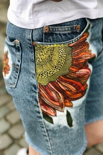 Ужгородський художник-абстракціоніст створив колекцію розписаного джинсового одягу, фото-4