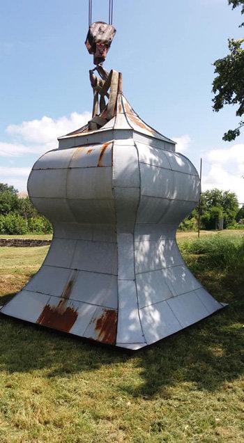 Архітектор Петро Сарваш розповів, навіщо купол Горянської ротонди віддали на реставрацію (ФОТО) , фото-4