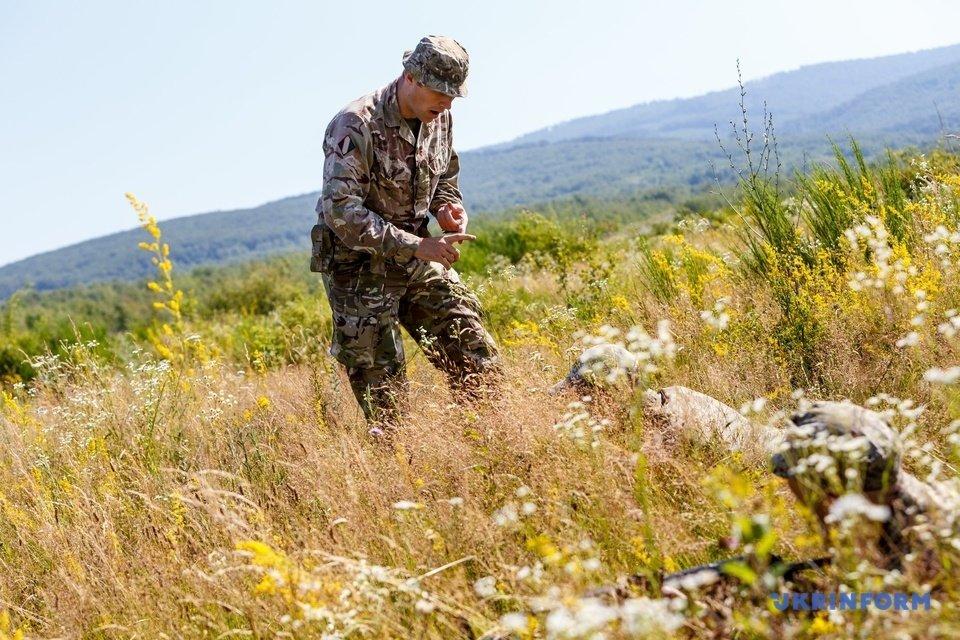 На Закарпатті проходять міжнародні навчання  військових по програмі, що відповідає стандартам НАТО (ФОТО), фото-1