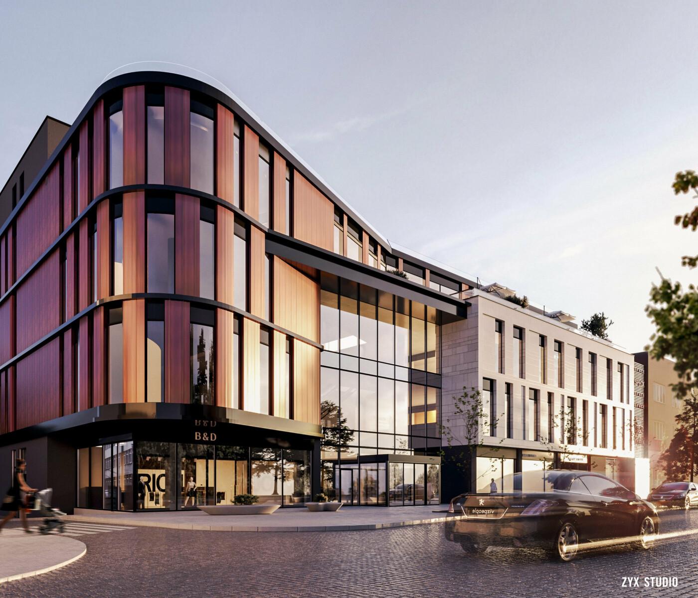 Як виглядатиме новий торговий центр на Поштовій в Ужгороді (ПРОЕКТ) , фото-2