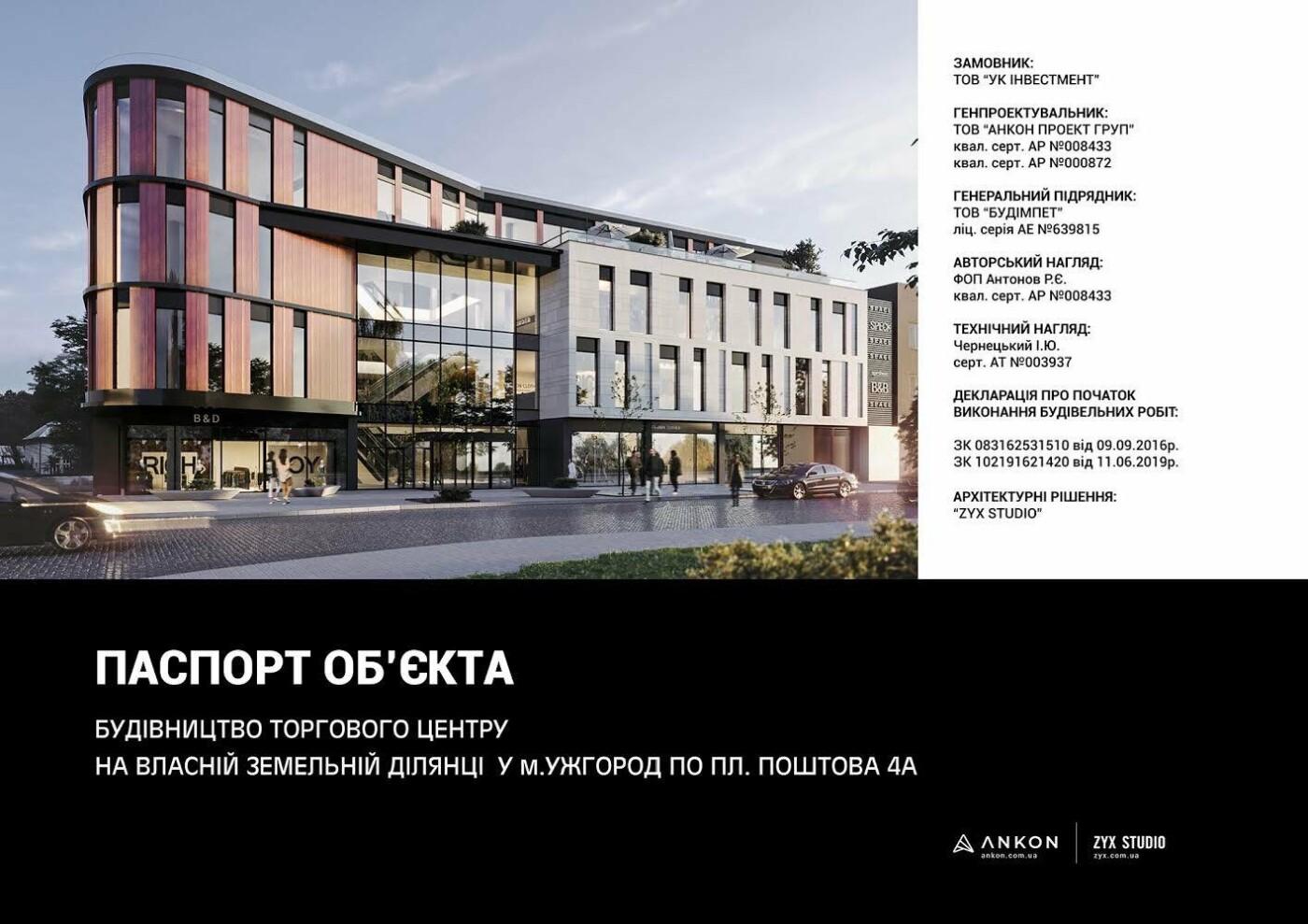 Як виглядатиме новий торговий центр на Поштовій в Ужгороді (ПРОЕКТ) , фото-6
