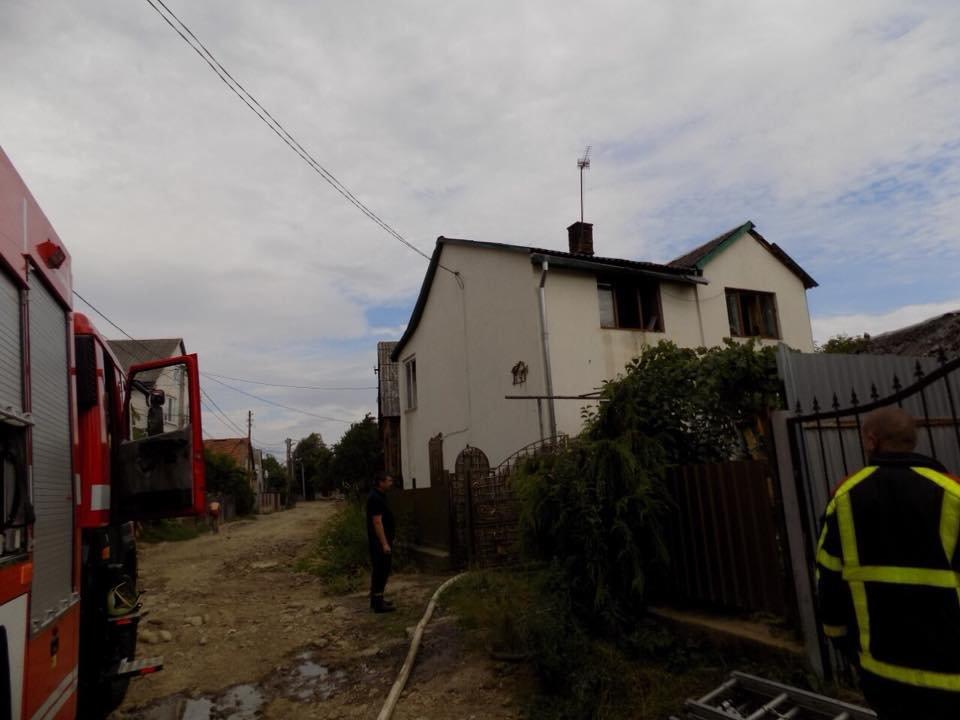 П'яний закарпатець навмисно спричинив пожежу в будинку співмешканки (ФОТО), фото-1