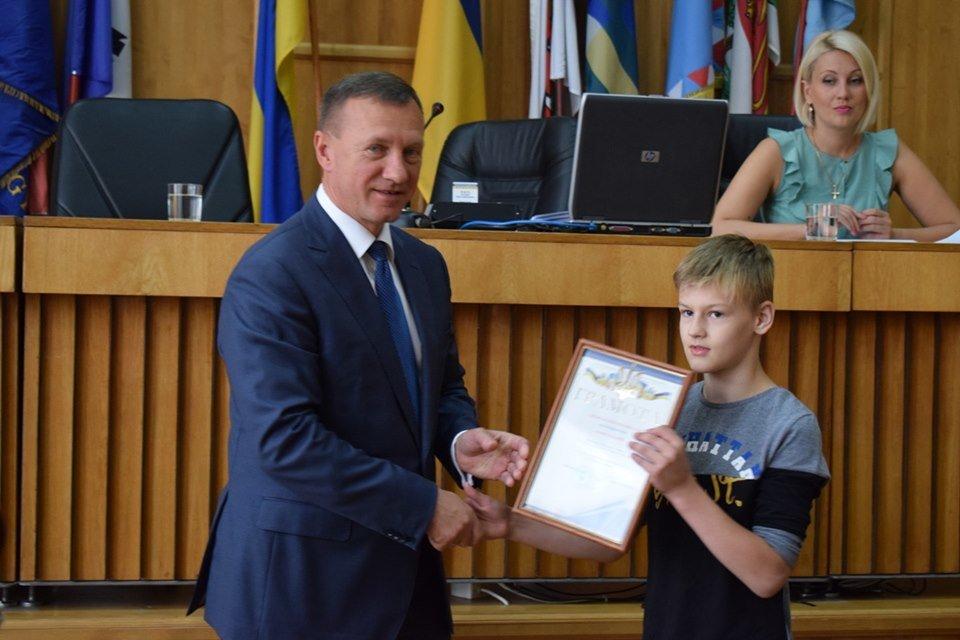 В Ужгороді відзначили юних спортсменів (ФОТО), фото-5